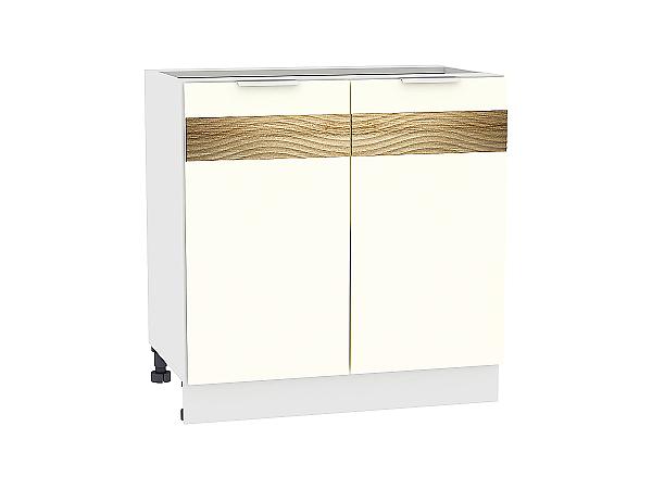 Шкаф нижний Терра Н800 D (Ваниль софт)