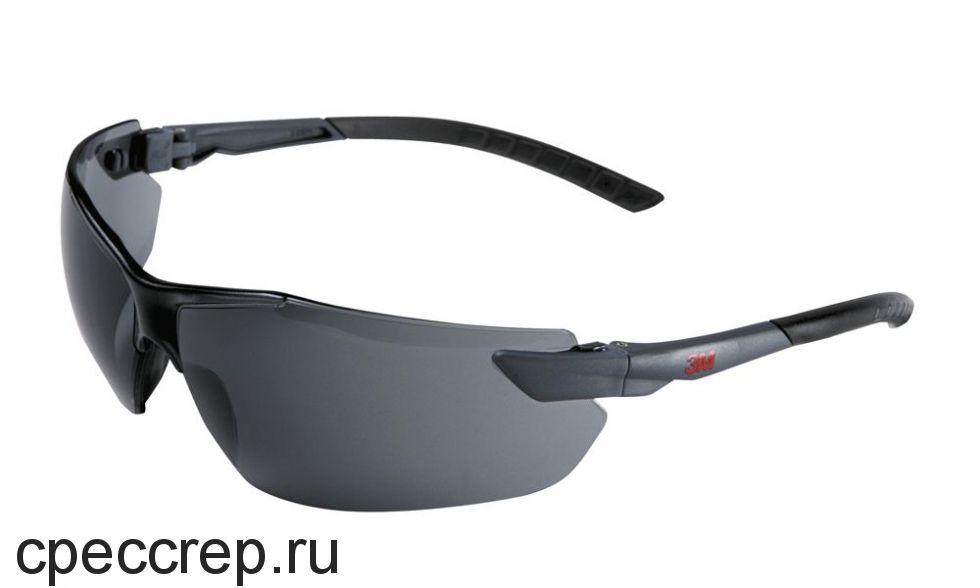 Очки поликарбонатные, цвет линз - зеркальный. Асферическая линза - 180° защита. Покрытие DX. 100% УФ защита.