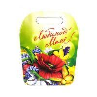Разделочная доска сувенирная 8 марта ЛЮБИМОЙ МАМЕ (рисунок Мак)