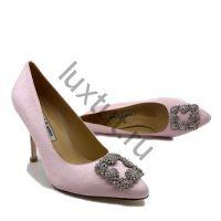 Женские туфли Маноло Бланик (Manolo Blahnik) розовые купить в интернет магазине