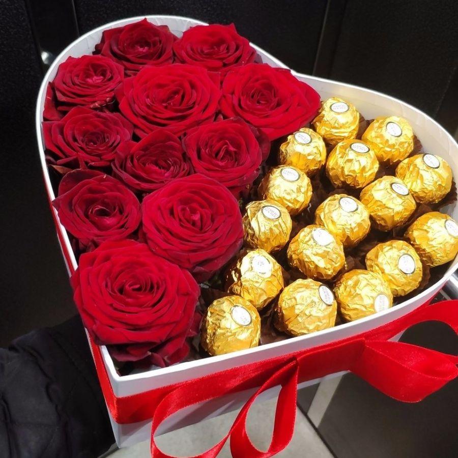 Розы и конфетки