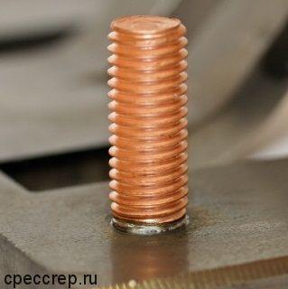 Штифт приварной (шпилька) резьбовой
