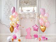"Фон стена ""Pinkbirthday№2"" 2х1.5м"