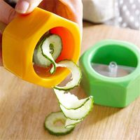 Слайсер для нарезки овощей спиралью_2