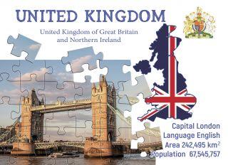 Почтовая открытка Step to the United Kingdom