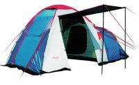 Кемпинговая палатка 4 местная с тамбуром Canadian Camper Hyppo 4 royal