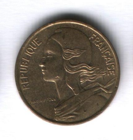 5 сантимов 1992 года Франция