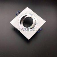 Точечный Светильник OREOL Korona AL1902 92/60mm Под Лампу MR16 Поворотный Алюминий Квадрат