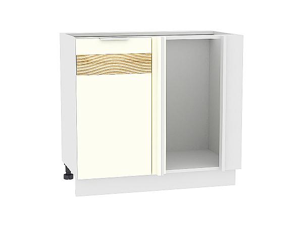Шкаф нижний угловой Терра НУ990 D (Ваниль софт)