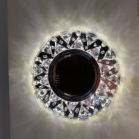 Точечный Светильник OREOL Crystal 2070M 105/60mm Под Лампу MR16 Белый