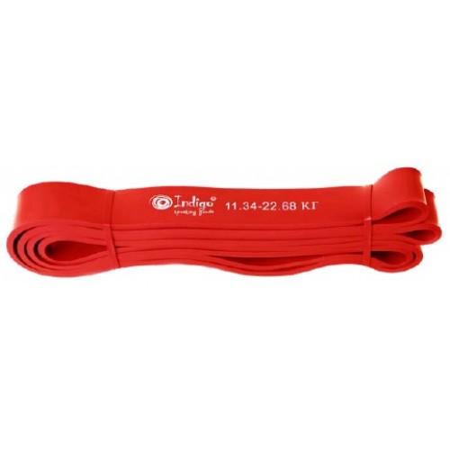 Эспандер резиновая петля Кроссфит INDIGO 601 HKRBB 208*1,9см (11 - 22 кг)