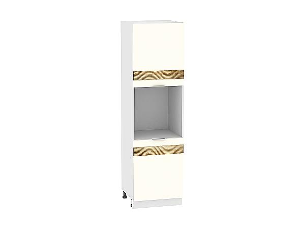 Шкаф-пенал под бытовую технику Терра ШП600 D (Ваниль софт)