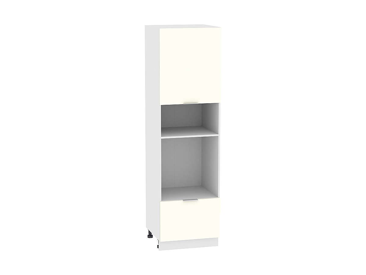 Шкаф-пенал под бытовую технику Терра ШП606H (Ваниль софт)