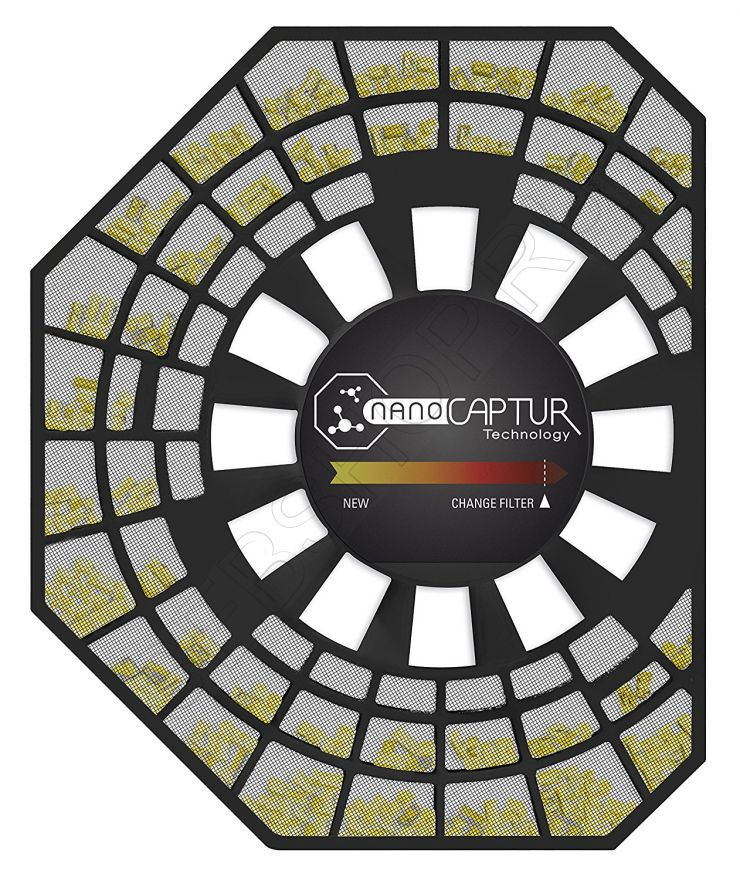 Фильтр NanoCaptur для очистителя воздуха TEFAL PU4015, PU4025 и др. Артикул XD6080F0 (XD6082F0).