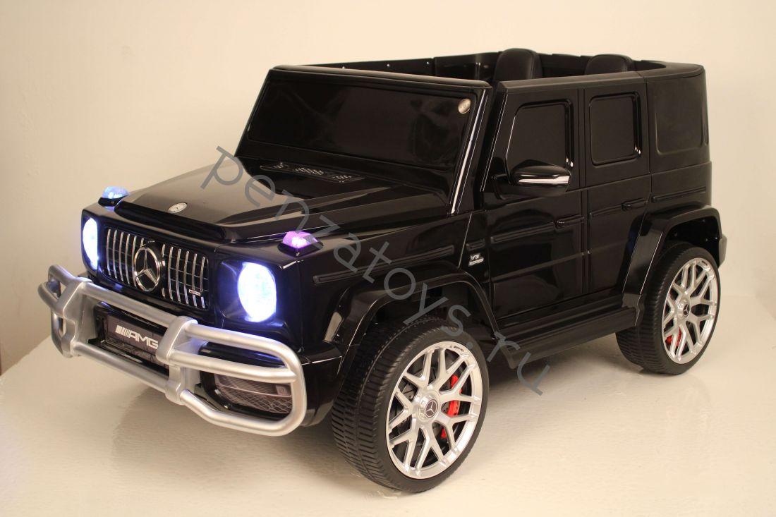 Электромобиль детский Mercedes-AMG G63 4WD S307 Полноприводный