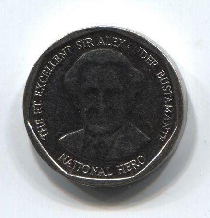 1 доллар 2012 года Ямайка