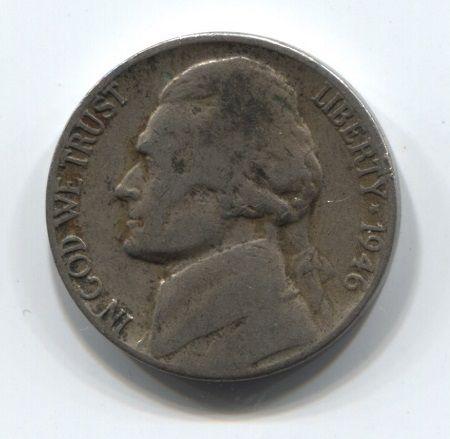 5 центов 1964 года D США VF