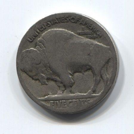 5 центов 1913-1938 года США Индеец
