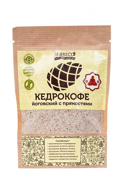 Кедрокофе Йоговский с пряностями, 90г