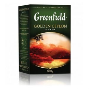Чай черный Greenfield Golden Ceylon 100г