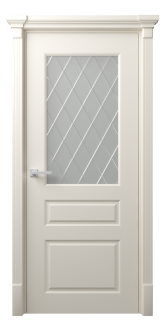 Межкомнатная дверь Мирбо Стекло Рим