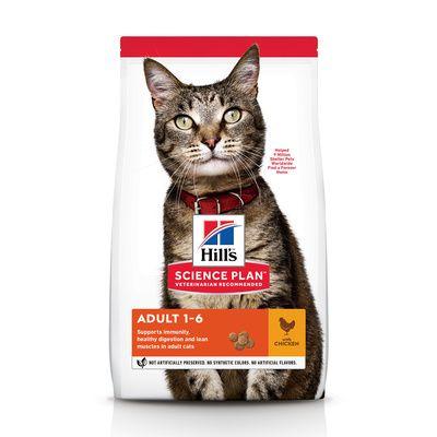 Корм для кошек Hill's Science Plan Optimal Care с курицей 1.5 кг