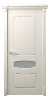 Межкомнатная дверь Этюд 3 Стекло Рим