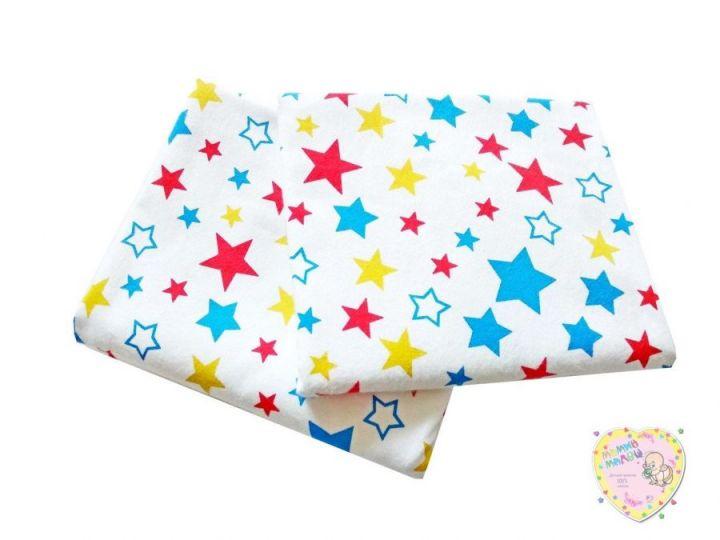 Пеленки для новорожденных фланель звезды C-PE600-FA (115х80)