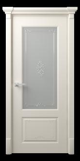 Межкомнатная дверь Эвиза Деко Стекло Вензель
