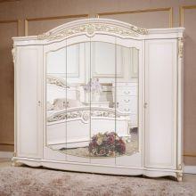 Шкаф AFINA 6-дверный эмаль