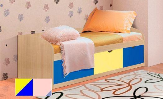 Кровать Фант-8 с 3 -мя ящиками МДФ
