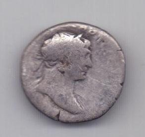 денарий Траян 98 - 117 года Рим