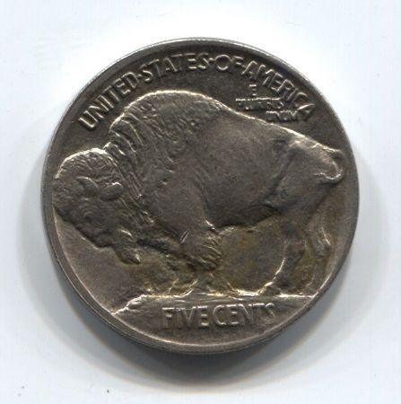5 центов 1913 года США XF