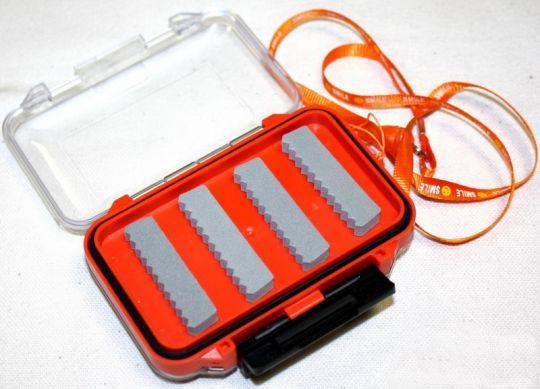 Коробка для мух 115*80*40 мм пенка прозрачная КИТ