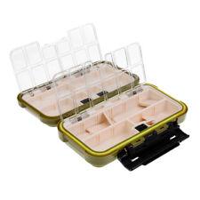 Коробка для мух мормышек 195*110*50 мм двухсторонняя,  большая КИТ