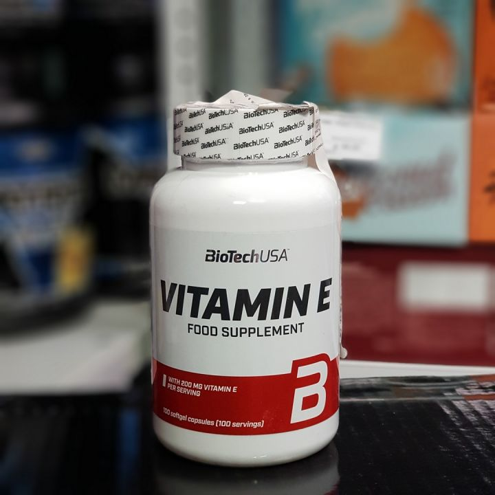 BioTech - Vitamin E 200 мг (100 капс)