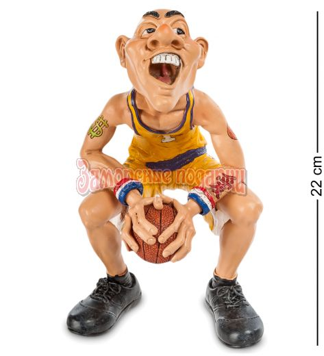 "RV-209 Фигурка Баскетболист ""В предвкушении..."" бол. (W.Stratford)"