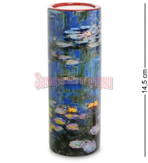 """pr-TC07MO Подсвечник """"Water lillies"""" Клод Моне (Museum Parastone)"""