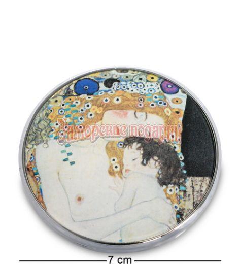 """pr-M01KL Зеркальце """"Три возраста женщины"""" Густав Климт (Museum.Parastone)"""