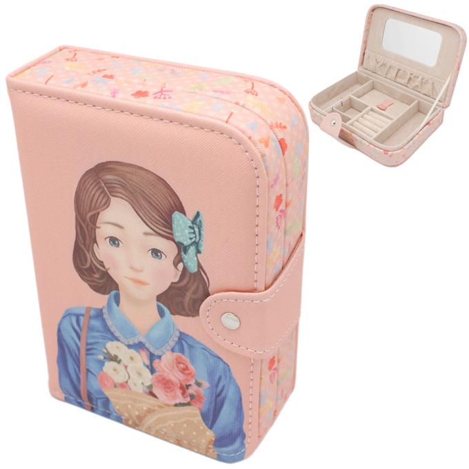 Шкатулка для украшений Маленькая Фея в синем (цвет розовый)