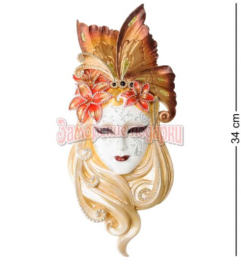 """WS-317 Венецианская маска """"Лилия"""""""