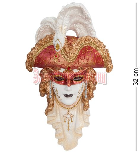 "WS-320 Венецианская маска ""Треуголка"""