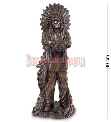"""WS-443 Статуэтка """"Индейский вождь"""""""