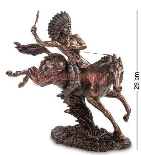 "WS-441 Статуэтка ""Индеец на коне"""