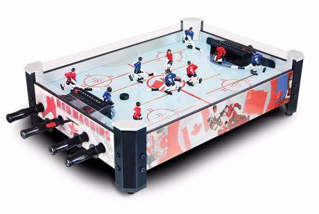 Настольный хоккей «Red Machine» с механическими счетами (71.7 x 51.4 x 21 см, цветной)