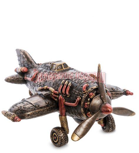 "WS-1059 Статуэтка в стиле Стимпанк ""Самолет"""