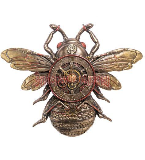 """WS-1062 Настенные часы в стиле Стимпанк """"Пчела"""""""