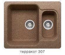 Мойка кухонная из искусственного камня Polygran F-09