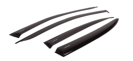 Дефлекторы боковых стёкол Lada Largus 2012-