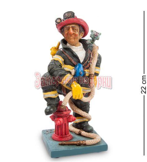 "FO-84010 Статуэтка мал. ""Пожарный"" (The Firefighter. Forchino)"